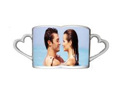 Mugs coeurs duo