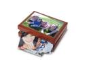 Boite à bijoux de 18 cm x 23 cm personnalisée avec votre photo.