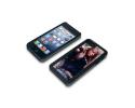 Coque de protection noire pour Iphone 5 personnalisée avec une photo