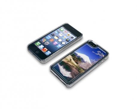 Coque de protection transparente pour Iphone 5 personnalisée avec une photo