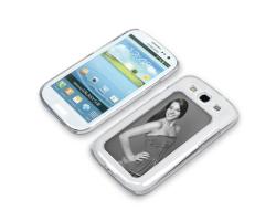 Coque de protection transparente pour Galaxy S3 / i9300 personnalisée avec une photo