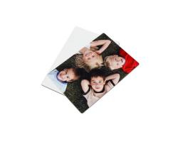 Plaque en aluminium pour iPad 2, 3 et 4 personnalisée avec une photo
