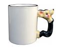 Mug avec poignée en forme de souris à personnaliser avec une photo