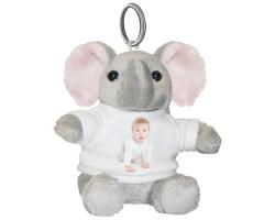 Porte-clés Éléphant à personnaliser avec une photo