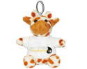 Porte-clés Girafe à personnaliser avec une photo
