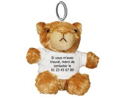 Porte-clés Marmotte à personnaliser avec une photo