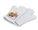 Gant de cuisine à personnaliser avec une photo de 10 cm x 10 cm
