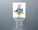 Mini panier de Basket-ball à personnaliser avec une photo