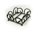 Support en fil métallique pour sous-verres carrés