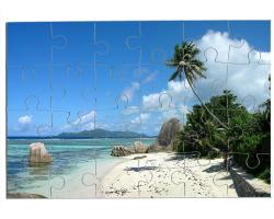 Puzzle 24 pièces personnalisé avec une photo - Format paysage