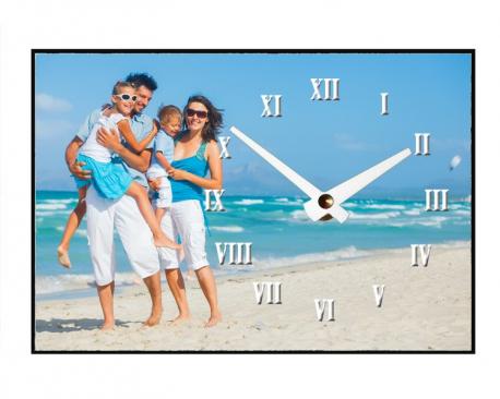 Horloge à personnaliser - Aiguilles à droite