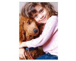 Puzzle 96 pièces personnalisé avec une photo - Format portrait