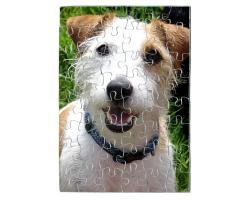 Puzzle 48 pièces personnalisé avec une photo - Format portrait
