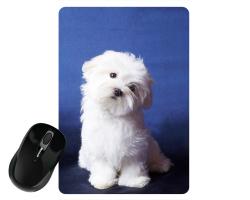Tapis de souris 27 cm x 19 cm personnalisé avec une photo - Format portrait