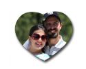 Coeur à personnaliser avec une photo