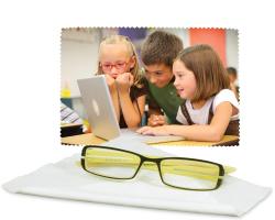 Chiffon à lunettes, écrans, personnalisé avec une photo (10 cm x 15 cm)