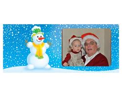 Mug blanc à personnaliser avec une photo - Thème Noël