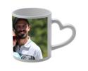 Mug blanc à personnaliser avec une photo