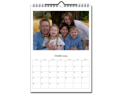 Calendrier photos A4 - Papier brillant 280g