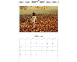 Calendrier photos A3 - Papier brillant 180g