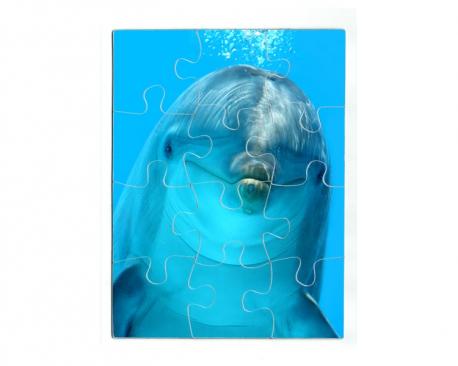 Puzzle magnétique 12 pièces personnalisé avec une photo - Format portait
