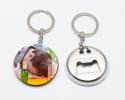 Porte-clés décapsuleur à personnaliser avec une photo